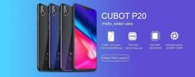 CUBOT P20 in Twilight Black OCTA CORE 64GB ROM 4GB RAM 6.18 FHD Screen 20MP C DUAL SIM fingerPrint