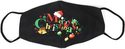 Stoffmaske Weihnachten Merry Christmas Mundschutz Maske Mund Nasen Schutz
