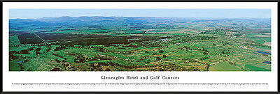 Gleneagles Golf Course Perthshire King & Queen's Course Scotland Framed Picture