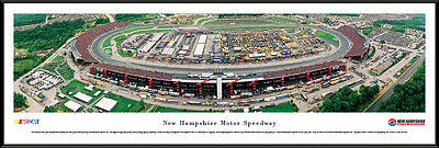 Speedway Nascar Picture - New Hampshire Motor Speedway Track Loudon Framed Nascar Poster Picture II