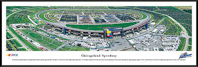 Speedway Nascar Picture - Chicagoland Speedway Track Joliet Illinois Framed Nascar Poster Picture I