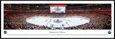 Edmonton Oilers | Professionally Framed NHL Panorama -