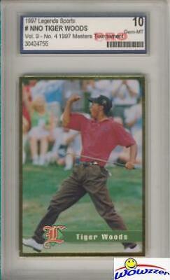 1997 Legends Tiger Woods RC-1997 Masters Pro 10 MINT!