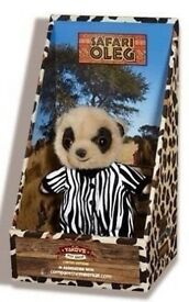 Safari Oleg limited edition meercat toy.