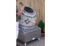 Mosaic Tandoori Clay Oven Mosaic Taftoon Oven Commercial Oven Decorated Clayoven