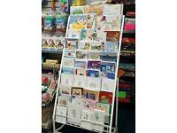 shop fittings card stand