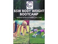 BOOTCAMP MOUNTSFIELD PARK - Group exercise session every Monday 7pm FIRST SESSION FREE