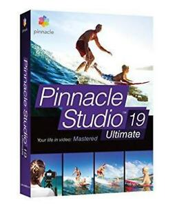 Corel Pinnacle Studio 19 Ultimate ML EN/FR/ES WINDOWS Multi-Camera Video Editing & Live Screen Capture