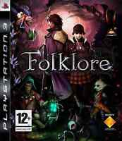 Selling Folklore PS3 videogame