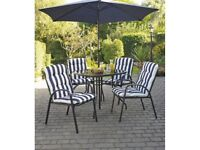 Patio set brand new