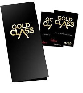 GOLD CLASS CINEMA TICKETS TO SELL Melbourne CBD Melbourne City Preview