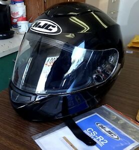 Motorcycle Helmet..HJC..only a year old..used twice..like new