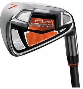 Cobra-AMP-Iron-Set-4-PW-Gap-Wedge-Regular-Graphite-RH-NEW-3006