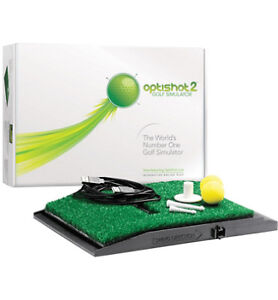 optishit 2 golf simulator.