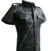 Leather Police Uniform