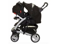 Baby Pram and car seat hardly ever used,free to collect.