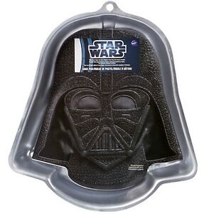 WILTON STAR WARS DARTH VADER BIRTHDAY PARTY CAKE PAN TIN