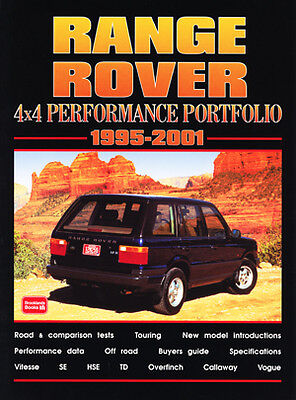 Range Rover P38 1995-2001 Buyer's Guide Reviews Road Tests Portfolio RR95PP NEW