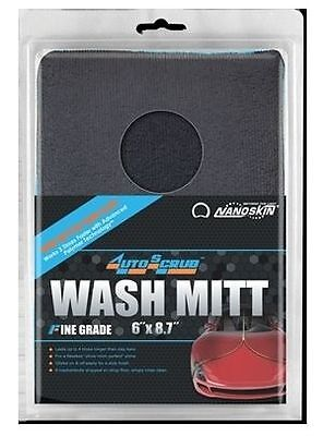 NANOSKIN AUTOSCRUB Clay WASH MITT  AS-016  (FINE GRADE) ***SUPER FAST SHIPPING