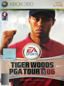 Details about Tiger Woods PGA Tour 06 (Microsoft Xbox 360, 2005) PAL