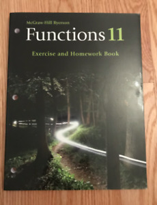 McGraw-Hill Ryersonfunctions 11 Exersise & Homework Book