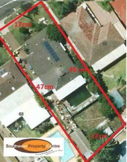 APPROX 771.M2 LAND, POSSIBLE DEVELOPMENT, CENTRAL LOCATION Campbelltown Campbelltown Area Preview
