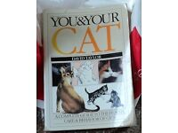 """""""You and Your Cat: A Complete Guide to the Health, Care and Behavior of Cats"""" Used book."""
