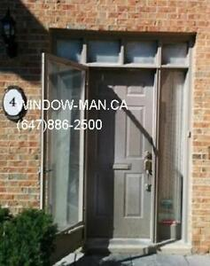 96inches Front Double 8foot Wrought Iron Door  Energy saving