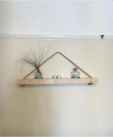 Set of 3 rustic shelves