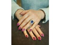 Specialise in nails and threading