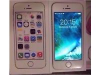iPhone 5s 16gb White & Silver Unlocked to Any Sim or Network provider