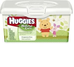 Huggies Baby Wipes Pop-Up Tub - 64 wipes in each box (10 Boxes)