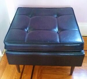 Mid century modern ottoman/coffee table