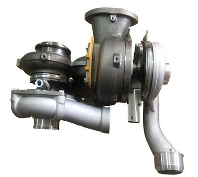NEW Upgraded Billet Turbocharger SET 08-10 Ford 6.4 Powerstroke Diesel NO CORE!