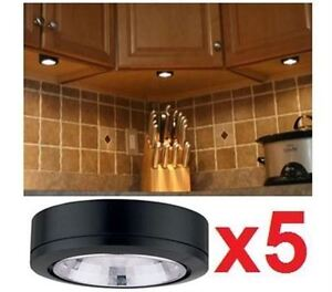 5 NEW UNDER CABINET PUCK LIGHTS