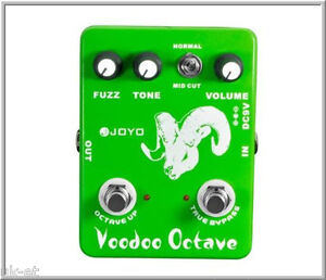Joyo-JF-12-Fuzz-Ultimate-Voodoo-Octave-Guitar-Effects-FX-Pedal-True-Bypass-FX