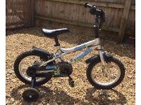 """Child's Dawes Blowfish 14"""" learner bike"""