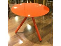Orange Misy Lamp Table (NEW)