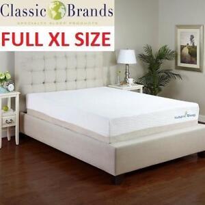 NEW 11' FULL XL MATTRESS 411129-2040 134989738 TALALAY LATEX CLASSIC BRANDS NATURAL SLEEP