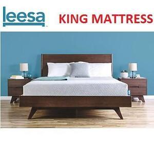 NEW LEESA KING MEMORY FOAM MATTRESS - 129888803