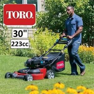 NEW TORO TIMEMASTER 30 LAWN MOWER 21200 242991026 223cc GAS BRIGGS STRATTON ELECTRIC START SELF PROPELLED