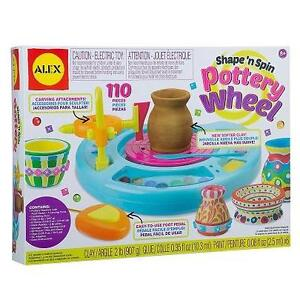 NEW ALEX TOYS DELUXE POTTERY WHEEL YOUNG ARTIST STUDIO 102649319