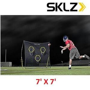 NEW SKLZ PORTABLE PASSING TRAINER QUICKSTER QB TARGET PORTABLE PASSING TRAINER 104362303