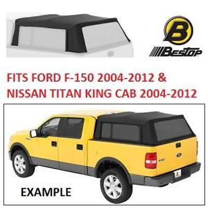 NEW BESTOP TRUCK BED TOP COVER 76305-35 174564370 BLACK DIAMOND SUPERTOP FOR FORD F150 NISSAN TITAN KING CAB 2004 TO ...