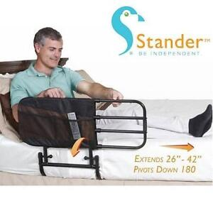 NEW STANDER EZ ADJUST BED RAIL EXTENDS FROM 26'' TO 42'' 102443373