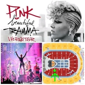"""P!NK """"front of stage"""" May 13 - Platinum Tickets - Awesome Price!"""