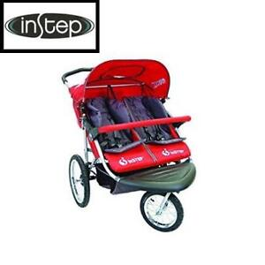NEW INSTEP SAFARI DOUBLE JOGGER 01183CRED 201734658 TT RED