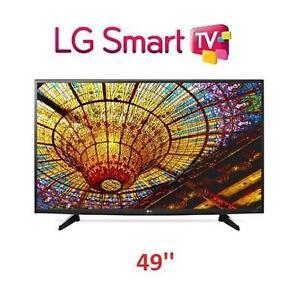NEW OB LG 49'' 4K UHD SMART LED TV WITH WebOS 3.0 - FULL HD 1080p - 49 INCH TV 107992778