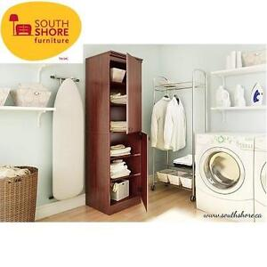 NEW* SOUTH SHORE STORAGE CABINET ROYAL CHERRY - MORGAN COLLECTION 102408602