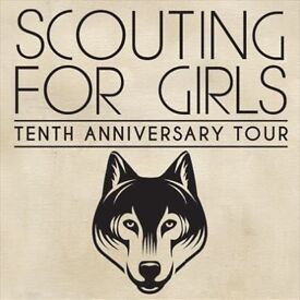 2x Scouting for Girls Anniversary Tour tickets O2 Academy Leicester